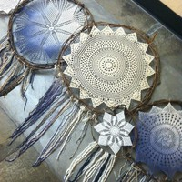 DIY Desktop Dream Catchers
