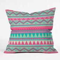 DENY Designs Home Accessories | Iveta Abolina Pink Navajo Throw Pillow