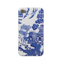 Willow pattern iphone 4 case from Zazzle.com