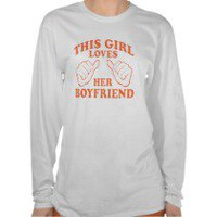 This Girl Loves Her Boyfriend Women&#x27;s T-Shirt