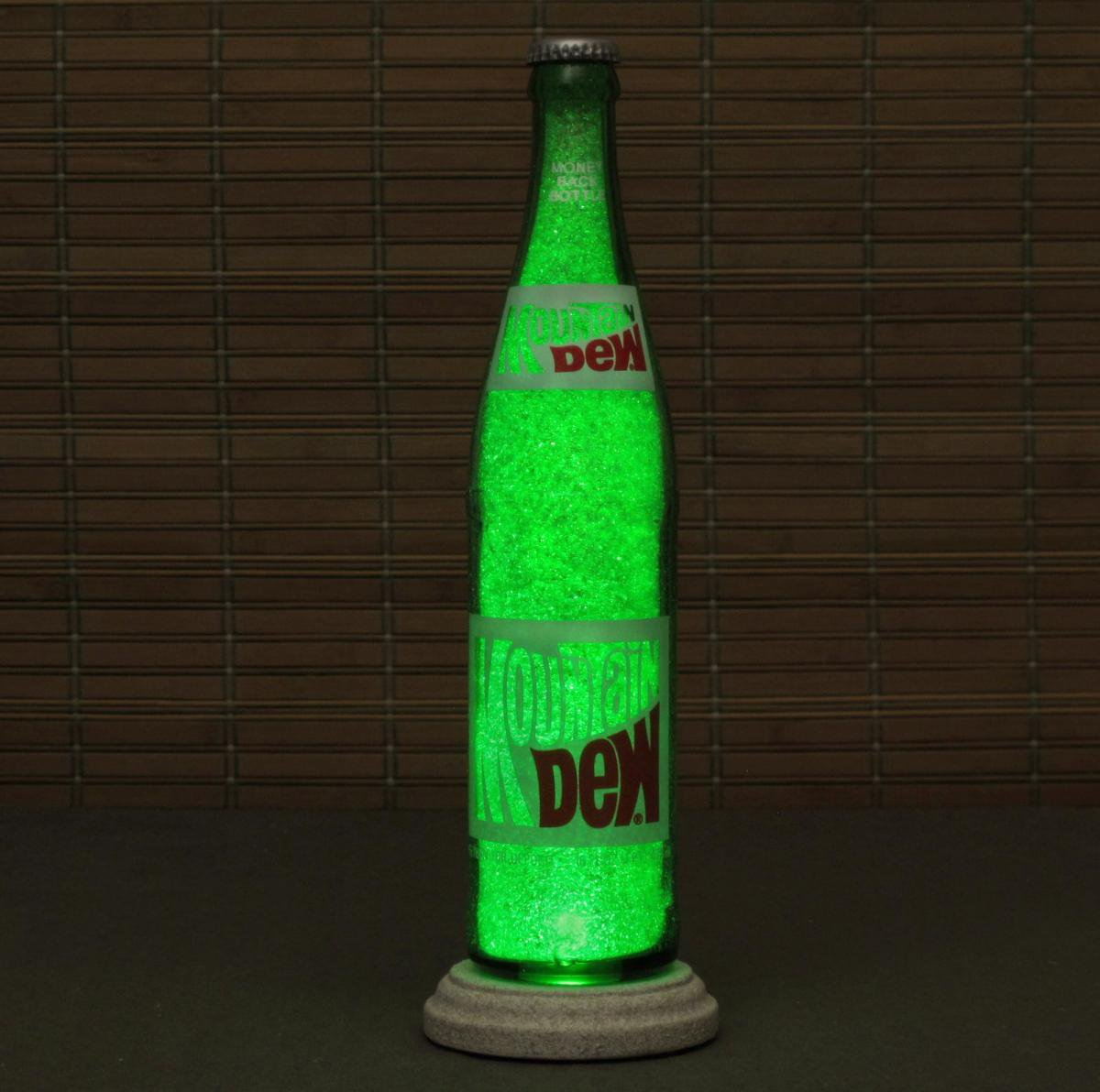 Vintage Mountain Dew 1970's Soda Bottle from ...