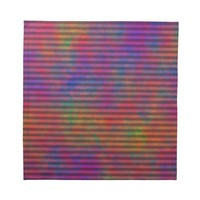 Psychedelic Stripes Napkin from Zazzle.com