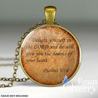 bible quotes pendant charms,exquisite resin pendants,handmade necklace pendants- Q0016CP