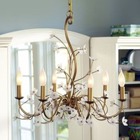 Winding Flower Chandelier