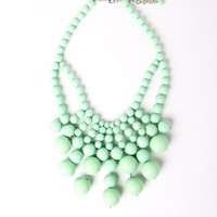 Be Baubled Necklace in Mint | a-thread