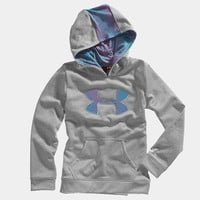 Girls&#x27; Armour Fleece Storm Big Logo Hoody | 1232174 | Under Armour US