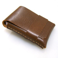 Leather Wallet Men WalletLeather Card Holder Buffalo by leathermix