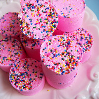 Strawberry Bath Bomb Set