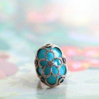 Sea Flower Caged Ring | Modern Vintage New Arrivals