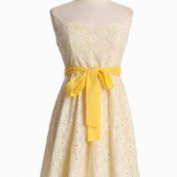 Sunshine Days Eyelet Dress | Modern Vintage New Arrivals