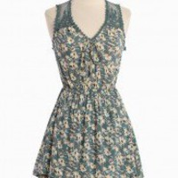 Moonlight Mile Floral Dress | Modern Vintage New Arrivals