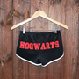 HOGWARTS Shorts 70s Style American Apparel Shorts by DebbieMarine