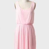 strawberry cascade pleated dress at ShopRuche.com