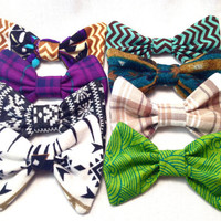 Hair Bow Set of Four- Choose any four bows from the set for one low price