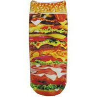 HAMBURGER PHOTO SOCKS from TOKYO HARDCORE
