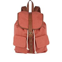 orange double pocket rucksack - rucksacks - bags / wallets - men - River Island