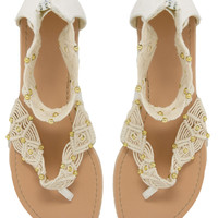 New Look T Heart Sandals