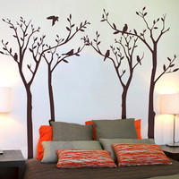 Birds &amp; Trees Wall Stickers
