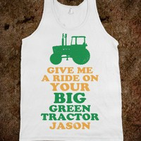 Give Me A Ride On Your Big Green Tractor Jason - Country Life
