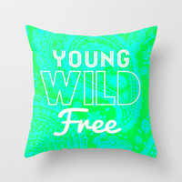 Paisley 2 Throw Pillow by Jordan Virden | Society6