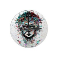 The Third Dimension Clock from Zazzle.com