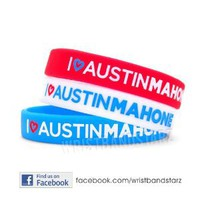 Amazon.com: 3 I Heart Austin Mahone Wristband Bracelet: Everything Else