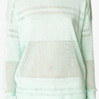Pointelle Striped Sweater | FOREVER 21 - 2046225851