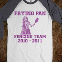 Frying Pan Fencing Team | Tangled