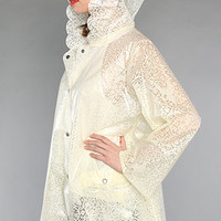The Lacey Raincoat in Ivory : Free People : karmaloop.com - Global Concrete Culture