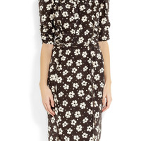 Bottega Veneta | Printed silk dress | NET-A-PORTER.COM