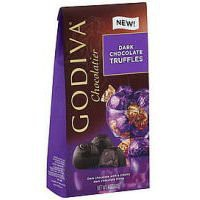 Godiva Gems Dark Chocolate Truffles - 4oz