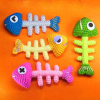 Buy Fish Bone pattern - AmigurumiPatterns.net