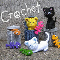 Buy Alley Cats pattern - AmigurumiPatterns.net