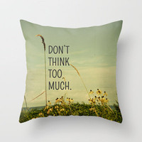 Travel Like A Bird Without a Care Throw Pillow by Olivia Joy StClaire | Society6