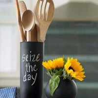 Chalkboard Vases