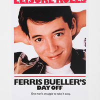 Urban Outfitters - Ferris Bueller&#x27;s Day Off Poster