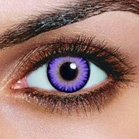 Amazon.com: iColor Complete Contact Lenses - Violet: Health &amp; Personal Care