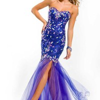 Party Time Gown 6048 Prom Dress - PromDressShop.com
