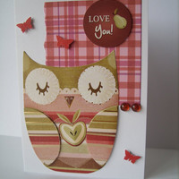Owl Love You - Valentine Card