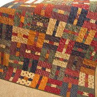 Handmade Patchwork Quilt Prairie Times by PatchworkMountain on Zibbet