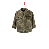 camouflage jacket - Jackets - Baby girl - Kids - ZARA United States