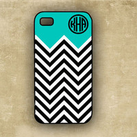 Chevron stripe phone case iPhone 4s case   by ToGildTheLily