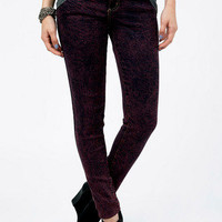 Acid Rain Skinny Jeans $43