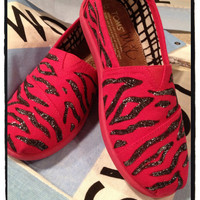 Zebra Custom Toms/ youth