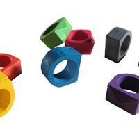 Crayon Rings by Timothy Liles for  - Free Shipping