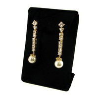Jacqueline Kennedy's Pearl Drop Earrings in Gold or Silver at the John F. Kennedy Presidential Library and Museum's Online Store