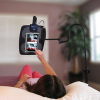 Levo Deluxe eBook and iPad Holder Floor Stand at BrookstoneBuy Now!