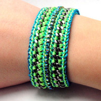 Summer Breeze Designer Bracelet with Chains Thread by GetShackled