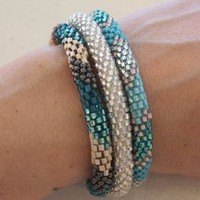 Amazon.com: Lily and Laura Bracelets - Teal (1): Arts, Crafts & Sewing