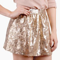 Show Stopper Sequin Skirt @ FrockCandy.com